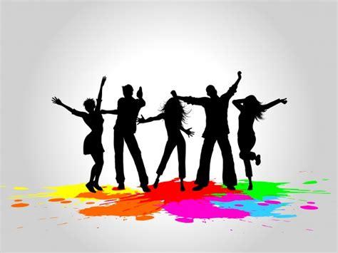 vectores de siluetas completamente gratis recursos photoshop siluetas de personas bailando descargar vectores gratis