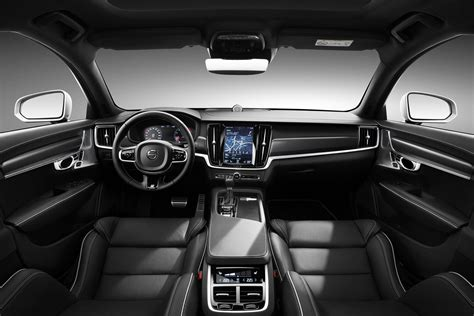 Volvo Upholstery by Swedish For Sporty Volvo S90 And V90 R Design 2016 Execs Unveiled By Car Magazine