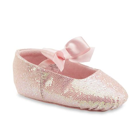 class baby toddler s pink sparkle ballet slipper