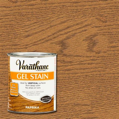 varathane 1 qt paprika gel stain of 2 266337 the