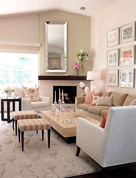 Pink Living Room Ideas Pink Pastel Living Room Decorations
