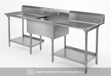 kitchen sinks winnipeg stainless steel product photography