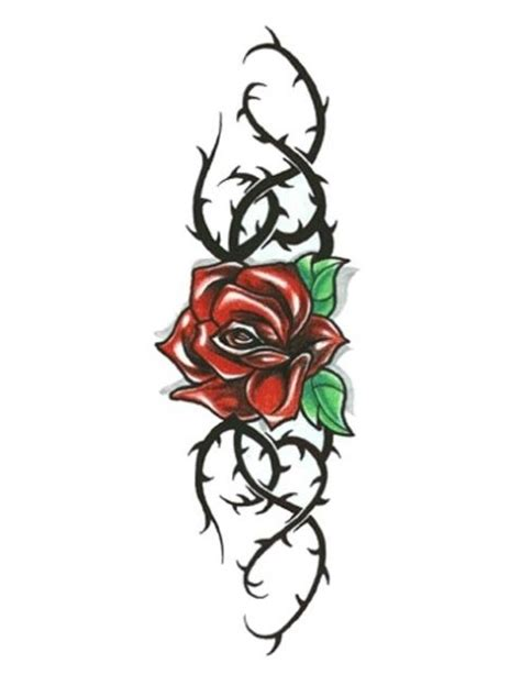 tattoovorlage rose clipart best