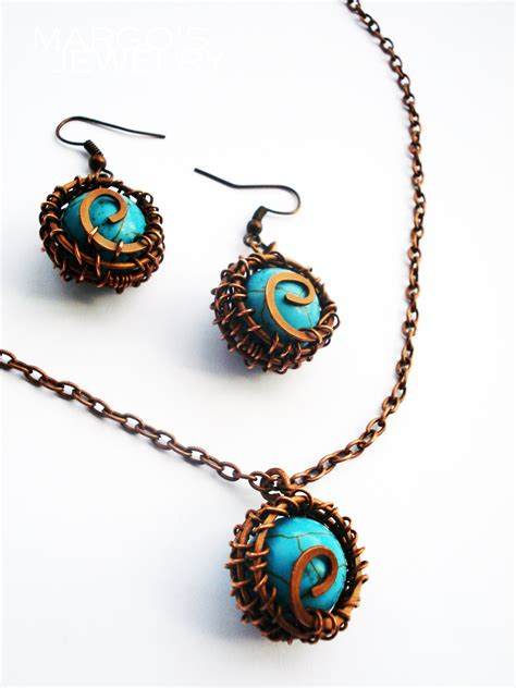 Handmade Jewelry Earrings - handmade set margo s jewelry