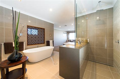 display home bathroom gj gardner display home north lakes contemporary