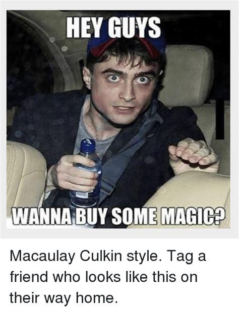 Macaulay Culkin Memes - hey guys wanna buy some magico macaulay culkin style tag a