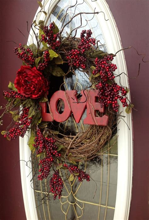 valentines day wreaths valentines day wreath door decor quot quot