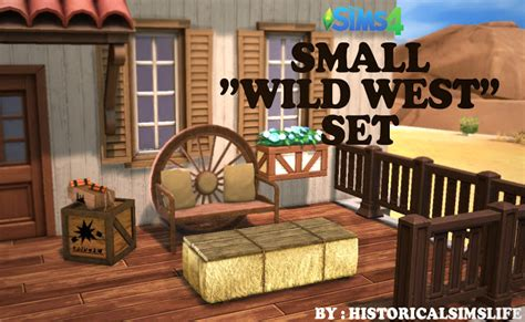 wild west home decor small wild west object set at historical sims life 187 sims