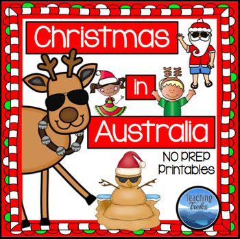 australia christmas craft around the world in australia by teaching treks