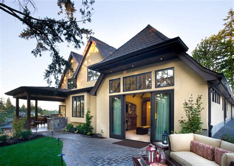 alan mascord house plans the rivendell manor traditional exterior portland by alan mascord design associates inc