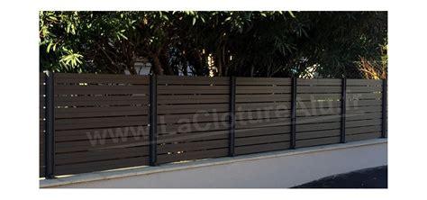 claustra jardin pas cher cloture aluminium prix identique au claustra composite claustra bois
