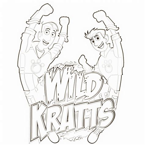 wild kratts animal coloring pages coloring pages