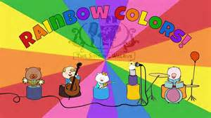 rainbow colors song rainbow colors song colors song for the singing