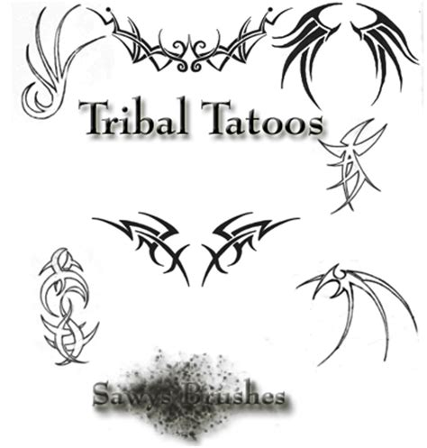 tribal pattern photoshop photoshop free tribal tattoo brushes photoshop free