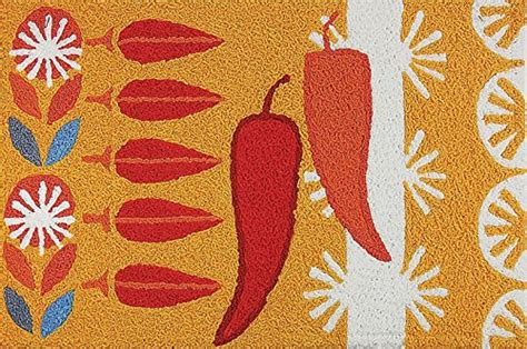 chili pepper kitchen rugs kitchen accessories
