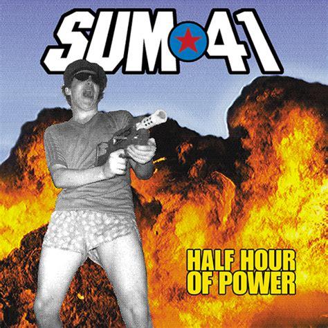Kaset Sum 41 Half Hour Of Power rock album artwork sum 41 half hour of power