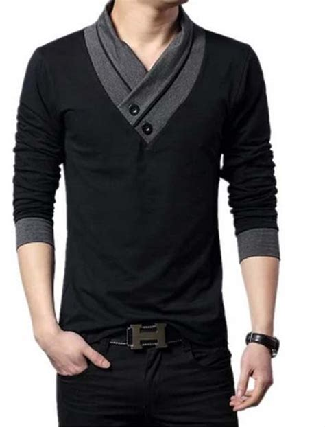 Different Designs Of Shirts Different Types Of Styles With Black T Shirt