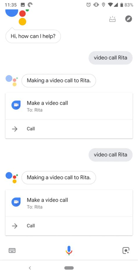 you can now make duo calls using assistant