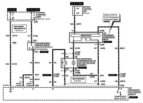 4 bag air suspension wiring diagram get free image about