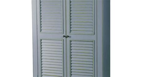 pantry wall cabinet 12 quot louvered doors