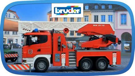 bruder toys logo scania feuerwehr 03590 bruder spielwaren