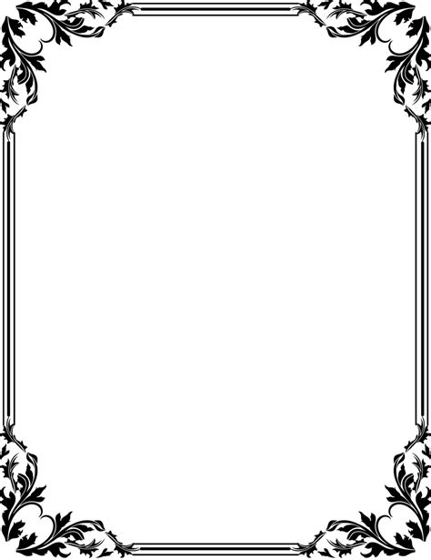 18 best photos of frame border design islamic borders and frames black