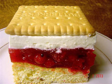 leibniz keks kuchen butterkeks himbeer kuchen rezept mit bild
