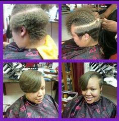 brazilian blowout twa natural african american blowout on twa short and sassy pinterest