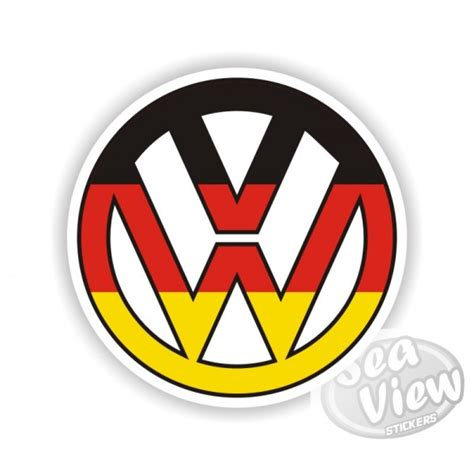 german volkswagen logo german flag