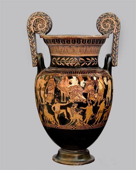 vaso attico dioniso mito rito e teatro mediterraneoantico