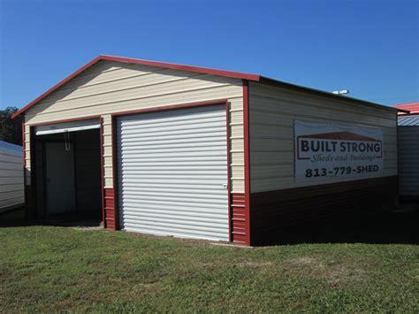 10x8 Garage Door 24x26 Garage With 9 Side Walls And 2 10x8 Roll Up Doors1 Walk Door 6885 00 Plus Tax Delivery
