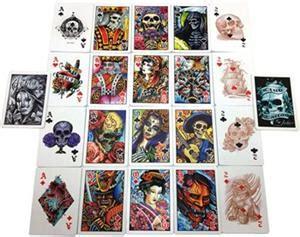 tattoo paper staples uk bicycle club tattoo deck b20337 163 6 50 the magic