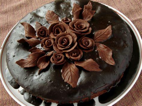 fiori cioccolato plastico 4 torte per la festa della mamma foto torte al cioccolato