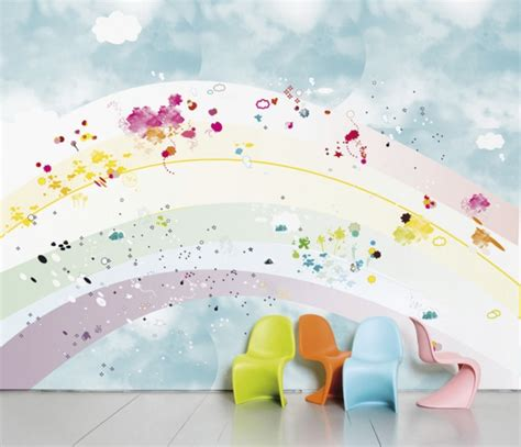 kinderzimmer wandgestaltung himmel wanddeko kinderzimmer wie eine wand ein ganzes zimmer