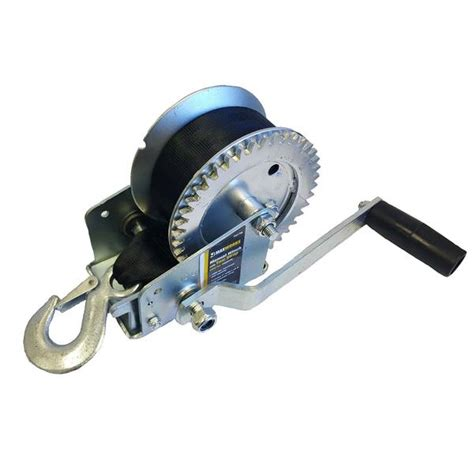 boat trailer winch strap west marine maxxtow towing products manual winch with 25 polyester
