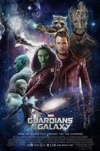 stunning guardians of the galaxy poster art by paul