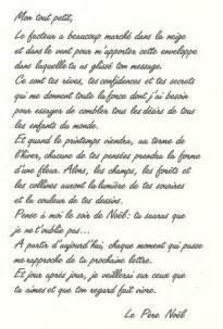 Exemple De Lettre Reponse Du Pere Noel Texte Pere Noel Mod 232 Le De Lettre