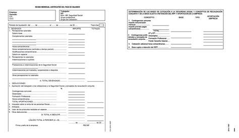 cabecera nomina esquema de la n 211 mina