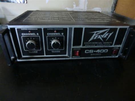 chambre d echo photo peavey cs 400 1983 peavey baffles li mixage