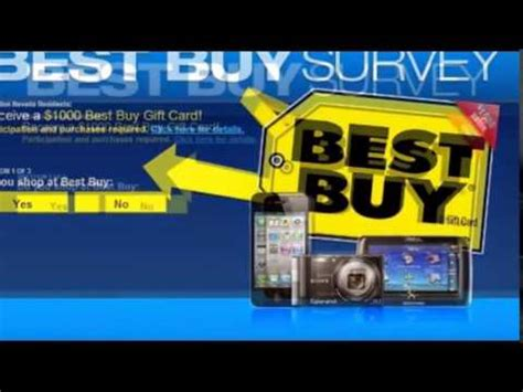 Win A Best Buy Gift Card - win a 1000 best buy gift card 2015new youtube