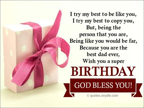 Wish You A Happy Birthday God Bless Happy Birthday Dad Quotes Quotes And Sayings