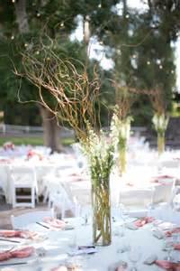 California wedding willow branch centerpiece centerpiece reception