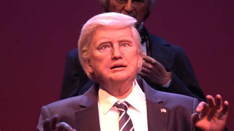 donald trump robot at walt disney s magic kingdom to see the trump
