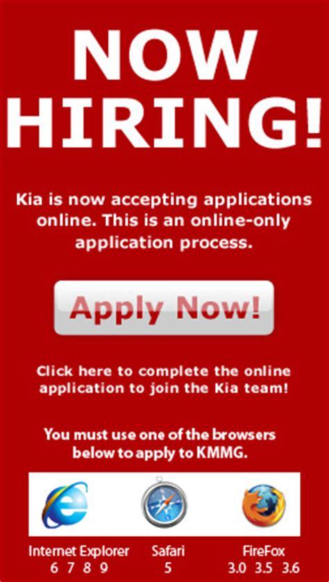 Kia Careers Kia