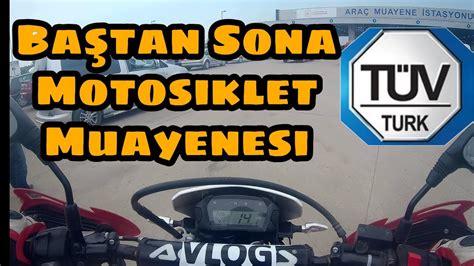 motosiklet muayenesi youtube