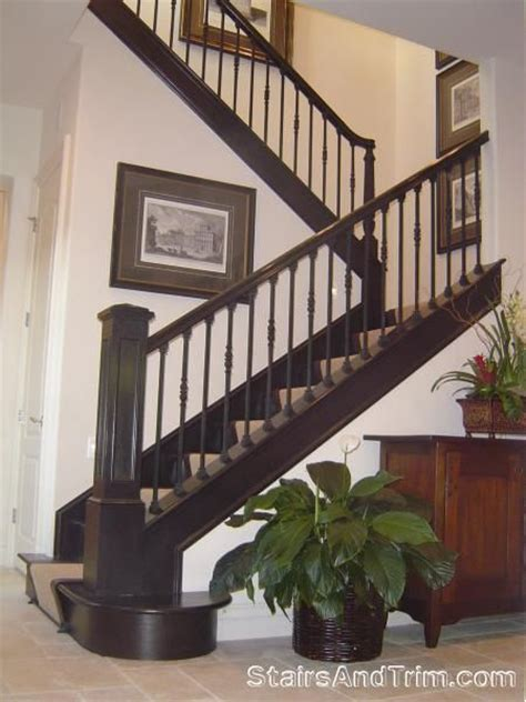 new stair banister new stair railing option for the home pinterest