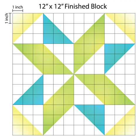 pattern block triangle grid paper how to supersize quilt blocks weallsew