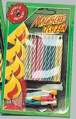 halter für kerzen 10 magische kerzen mit halter scherzartikel feuer und rauch