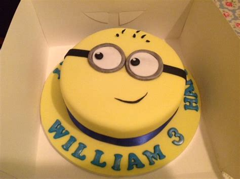 cake ideas for 3 year boy h baked this minion cake for a 3 year boy