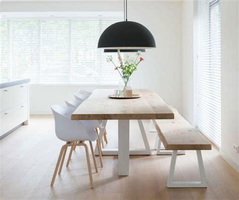 panchine di design panche e sedie di design per tavolo da pranzo 30 idee di